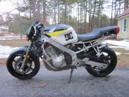 Honda f2 motorcycle build by that guy in maine for Honda motorcycle dealers maine