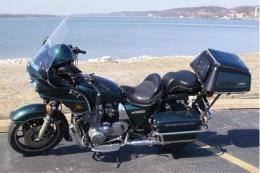 1987 Kawasaki KZ1000 Police Motorcycle Build by Guitargeek
