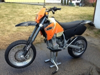 Supermoto Stunt Bike