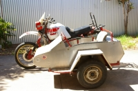 XT600 Tenere with Sidecar