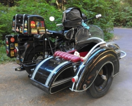 Sidecar Motorcycle Builds