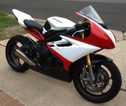 Daytona 675 Track Bike