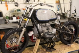1978 BMW R100/7 Cafe Racer Motorcycle Build by Houseoffubar