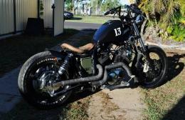 1991 Yamaha XV 1100 Bobber Motorcycle Build by Street_Kleaver
