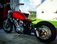 Shadow 600 Softail Bobber