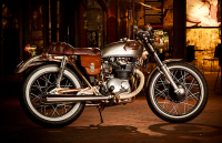 CB350G Steampunk Cafe Frankenstein